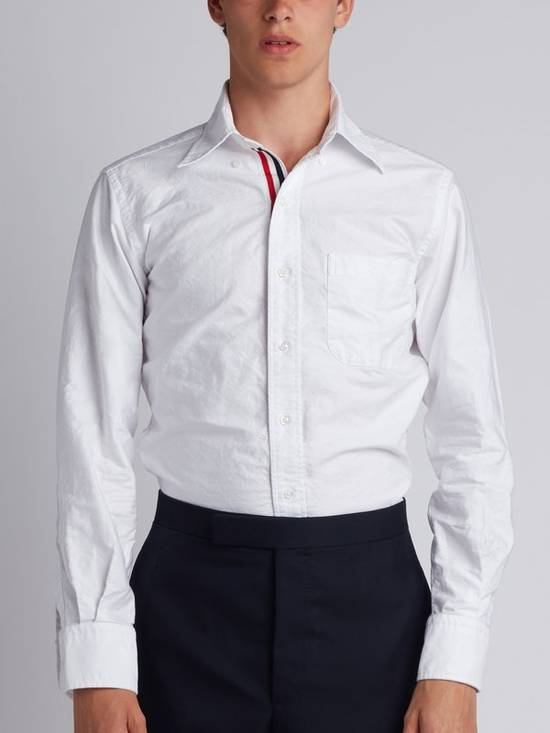 Thom Browne *Brand New* Button Up Grosgrain Placket Oxford Shirt Size US S / EU 44-46 / 1 - 1