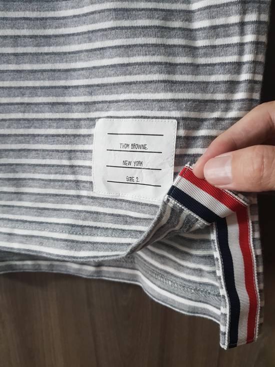 Thom Browne Thom Browne Stripe T with Grosgrain Size US M / EU 48-50 / 2 - 1