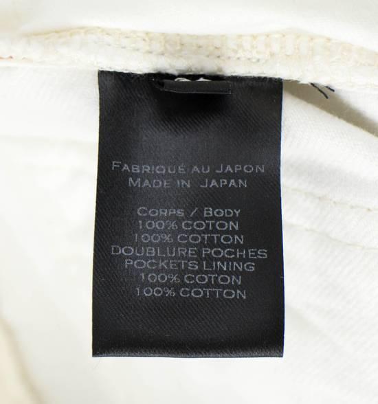 Balmain White Cotton Denim Distressed Biker Jeans Pants Size US 34 / EU 50 - 6