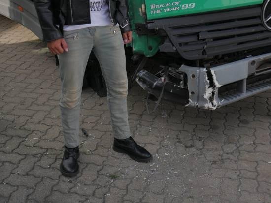 Balmain Womens Biker Jeans Size US 32 / EU 48