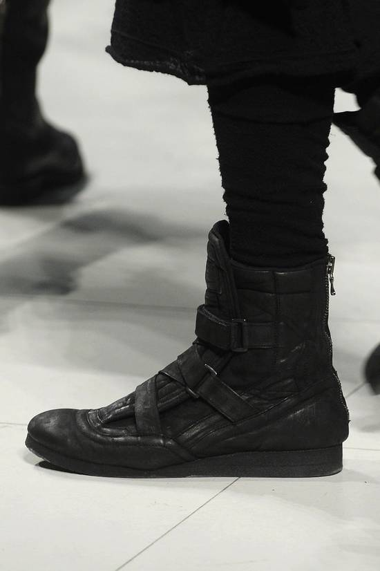 Julius AW11 Waxed Black Strapped Leather Boots Size US 9 / EU 42 - 7