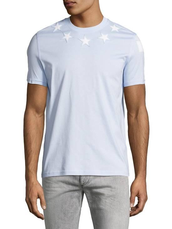 Givenchy Baby Blue 5 Stars T-shirt Size US XL / EU 56 / 4 - 2