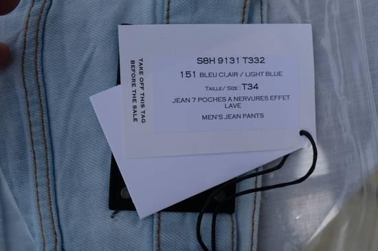 Balmain Light Blue Biker Jeans Size US 34 / EU 50 - 10