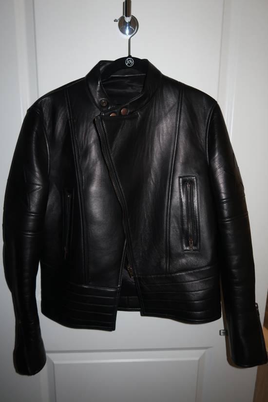 Givenchy Lamb leather moto star print jacket Size US M / EU 48-50 / 2 - 6