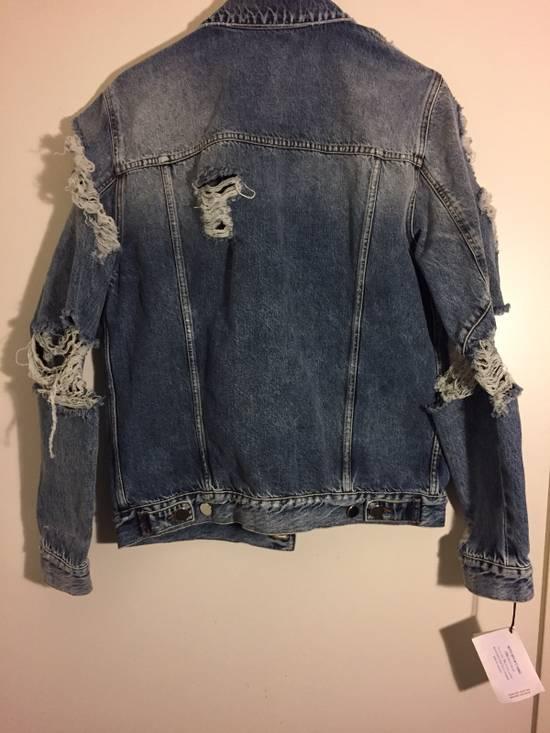 Balmain Blue Denim Destroy Jacket Size US XL / EU 56 / 4 - 3