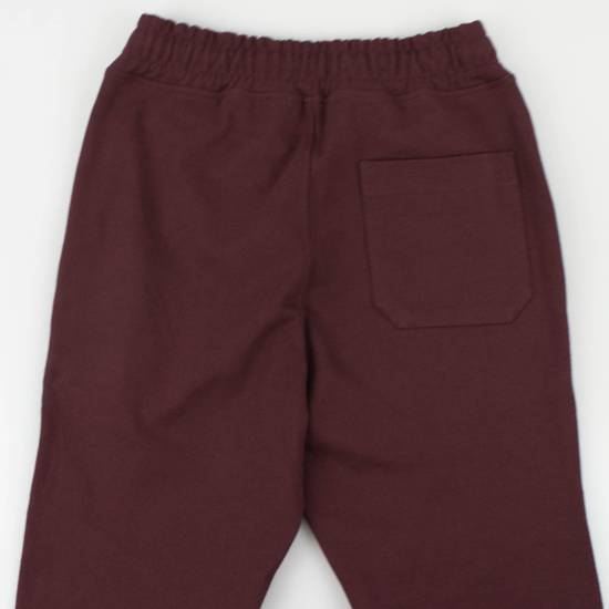 Balmain Burgundy Cotton 'Calecon Nervures' Sweatpants Pants Size XS Size US 30 / EU 46 - 3