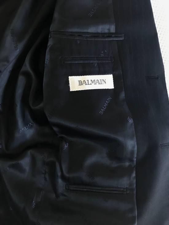 Balmain TESSUTO PINSTRIPED BLAZER Size 50R