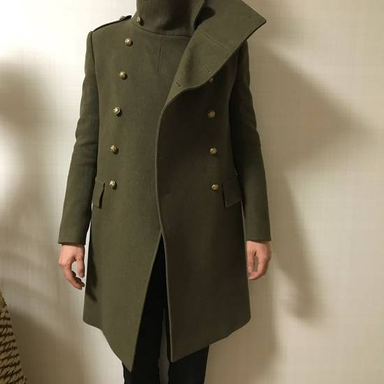 Balmain 11 FW Military high neck coat Size US M / EU 48-50 / 2 - 4