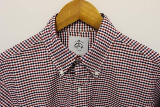 Thom Browne Black Fleece Checkered Oxford Shirt BB2 Size US M / EU 48-50 / 2 - 1