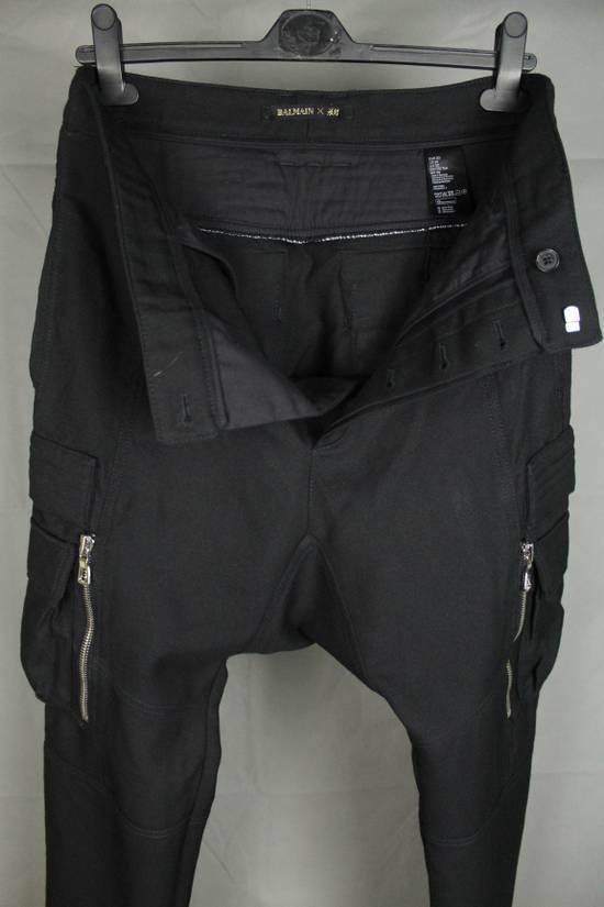 Balmain Balmain X H&M Cargo Biker Wool Pants Size EUR30 Size US 30 / EU 46 - 19