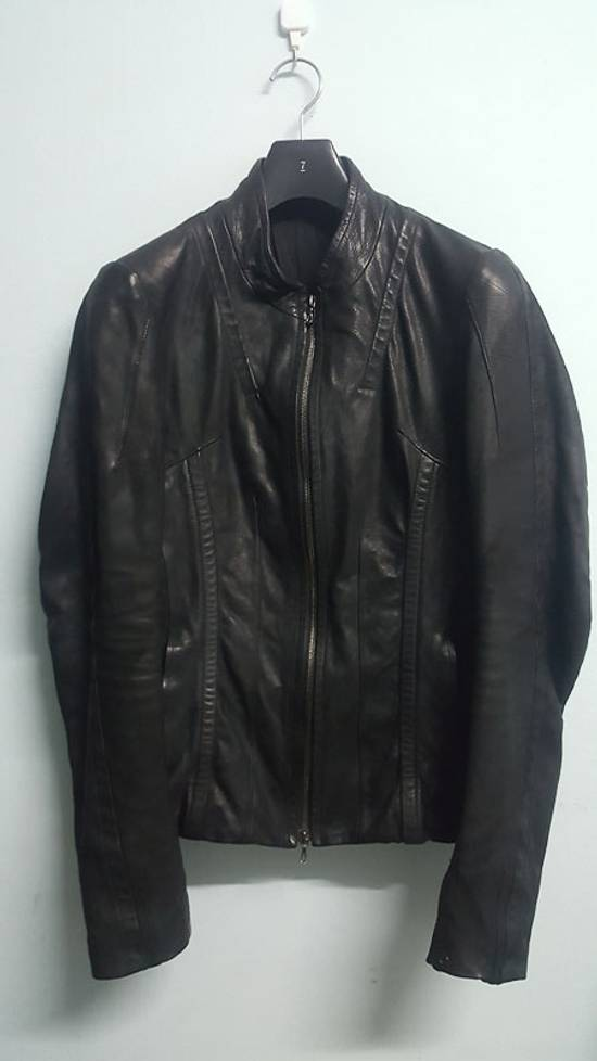 Julius Calf Leather Moto Jacket Size US M / EU 48-50 / 2 - 1