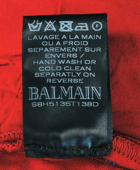 Balmain Original Balmain Distressed Red Men Biker Jeans in size 32 Size US 32 / EU 48 - 9