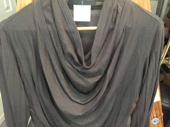 Julius AW07 Giza Cotton Drape Neck Longsleeve Size US S / EU 44-46 / 1 - 3