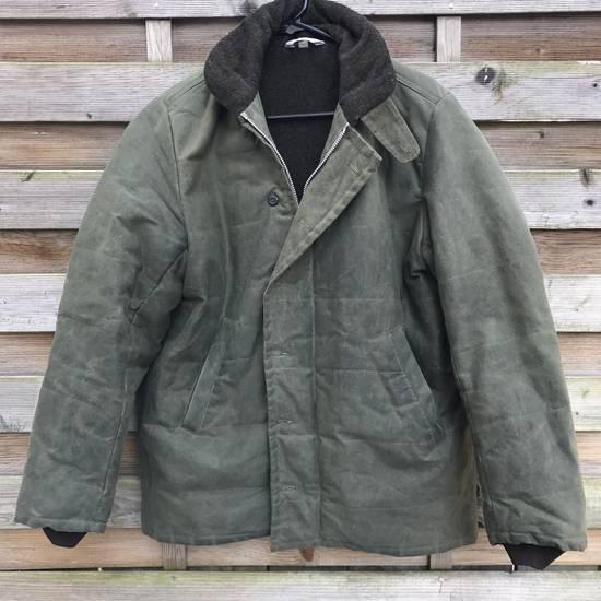 Dana Lee Waxed N-1 Style Deck Jacket Size US L / EU 52-54 / 3