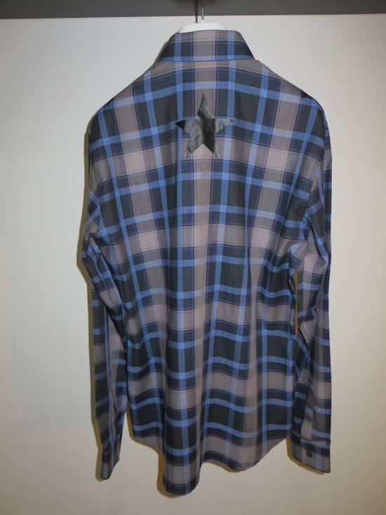 Givenchy Star-print plaid shirt Size US S / EU 44-46 / 1 - 3