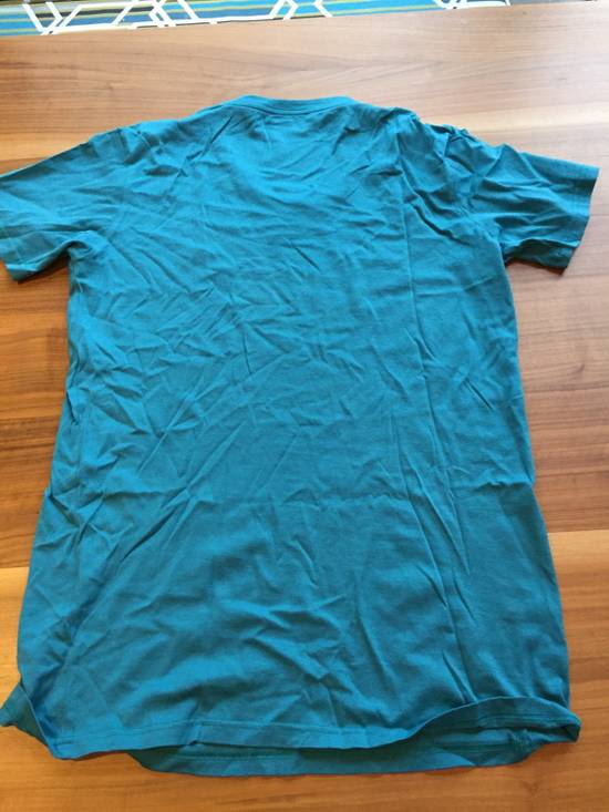 Balmain Light Blue Balmain Tee with White Crest Size US L / EU 52-54 / 3 - 7