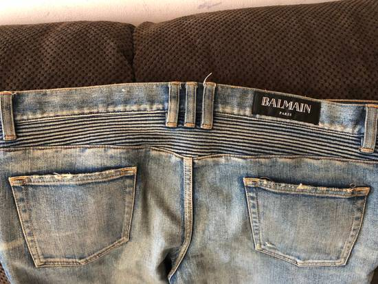 Balmain Balmain disrtressed biker jeans Size US 36 / EU 52 - 15