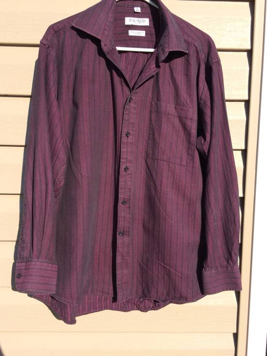 Balmain Button-up Striped Shirt Size US M / EU 48-50 / 2