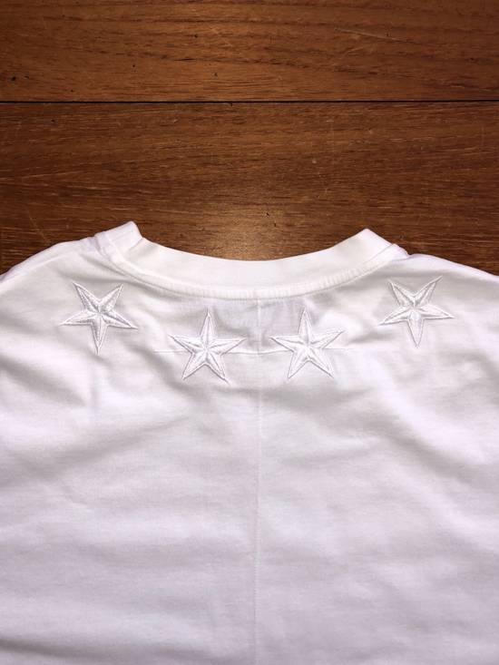 Givenchy Cuba Fit T-shirt White Stars Size US XS / EU 42 / 0 - 4