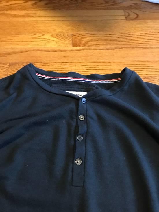 Thom Browne Long Sleeve Henley Size US M / EU 48-50 / 2 - 2