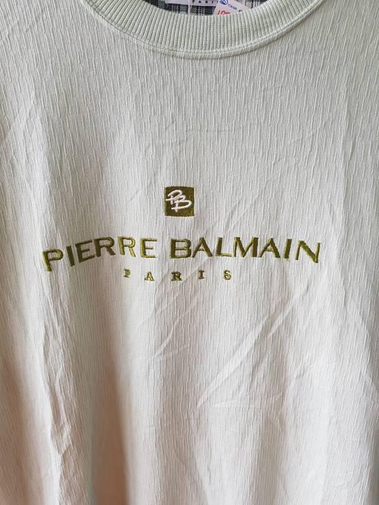 Balmain Japan Pierre Balmain Paris Embroidered Jumper Sweater Shirt Size US L / EU 52-54 / 3 - 2