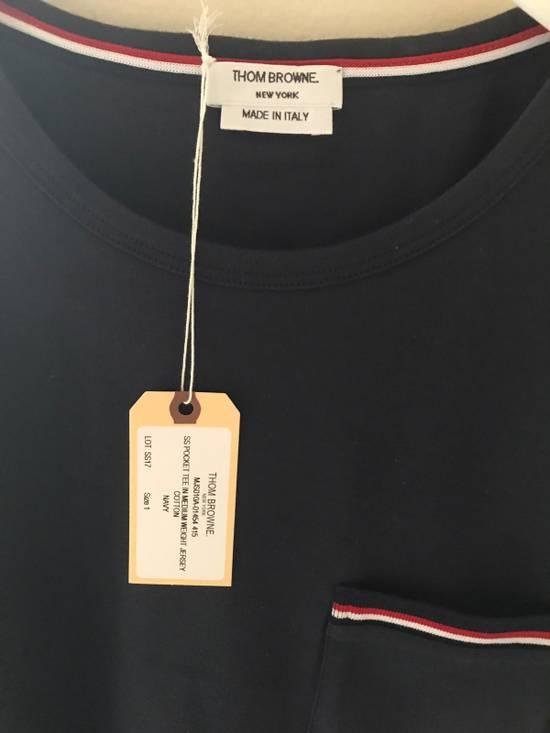 Thom Browne 17SS Logo Pocket Tee Size US S / EU 44-46 / 1 - 3