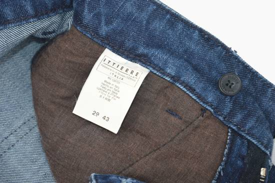 Balmain Coated Blue Moto jeans Size US 29 - 5