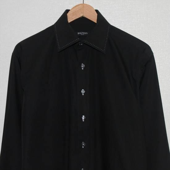 Balmain Vintage Balmain Paris Free Shipping Men's Longsleeve Button Shirt Black Size Fit Like L Cotton Size US L / EU 52-54 / 3 - 3