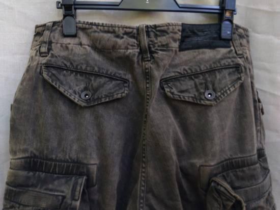 Julius Green Denim Gas Mask Cargo Pants s/s 13 Size US 31 - 9