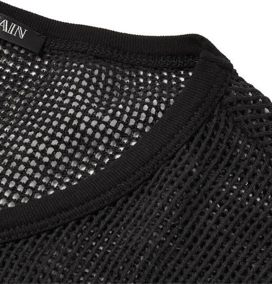 Balmain Balmain Basketweave-Knit Cotton and Linen-Blend Top BRAND NEW WITH TAGS Size US S / EU 44-46 / 1 - 4
