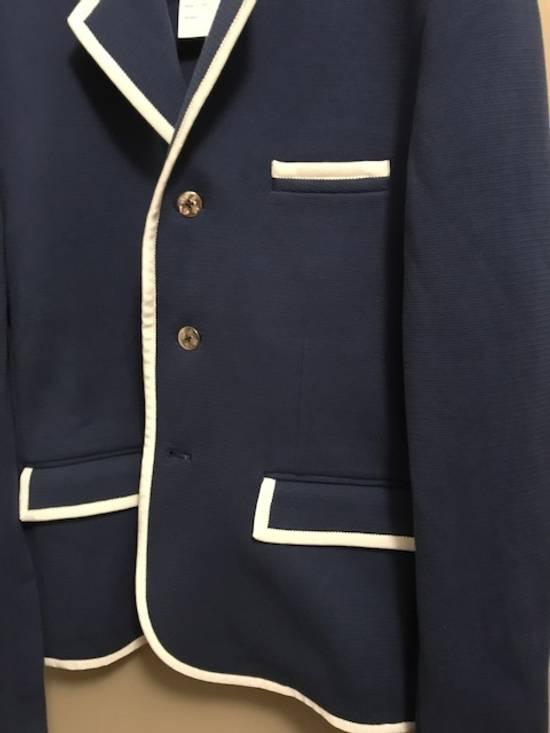 Thom Browne Bright Blue Knit Blazer Size 44R - 7