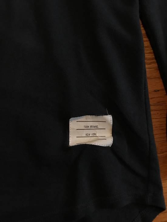 Thom Browne Long Sleeve Henley Size US M / EU 48-50 / 2 - 1