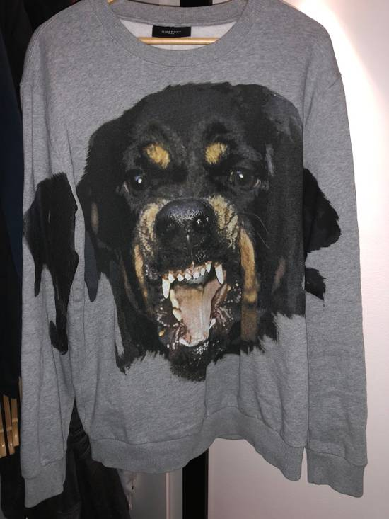 Givenchy Givenchy Rottweiler Grey Sweatshirt Sweater Size L Size US L / EU 52-54 / 3