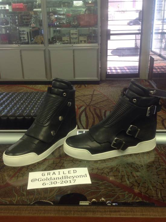 Balmain Quilted Leather Sneakers Size US 9.5 / EU 42-43