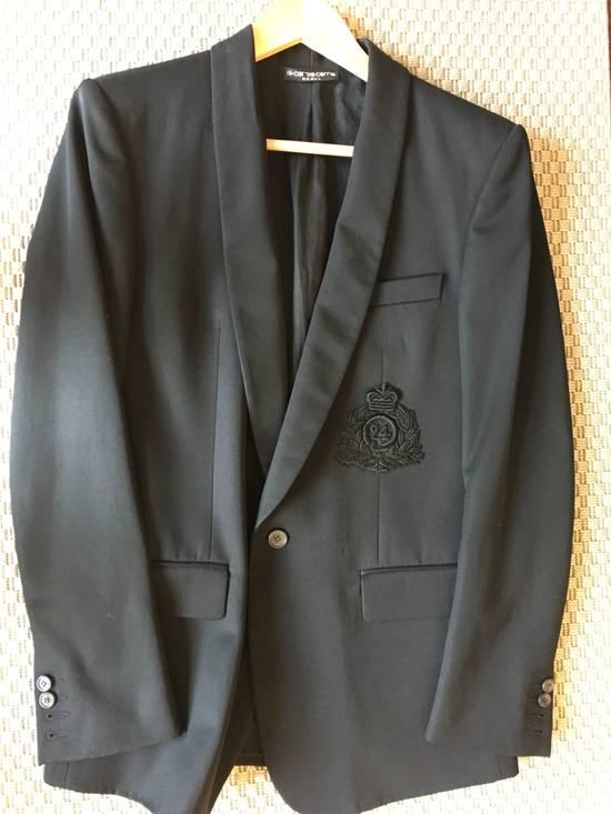 Balmain Decarnin-era Shawl Collar Wool Blazers Size 46R - 5