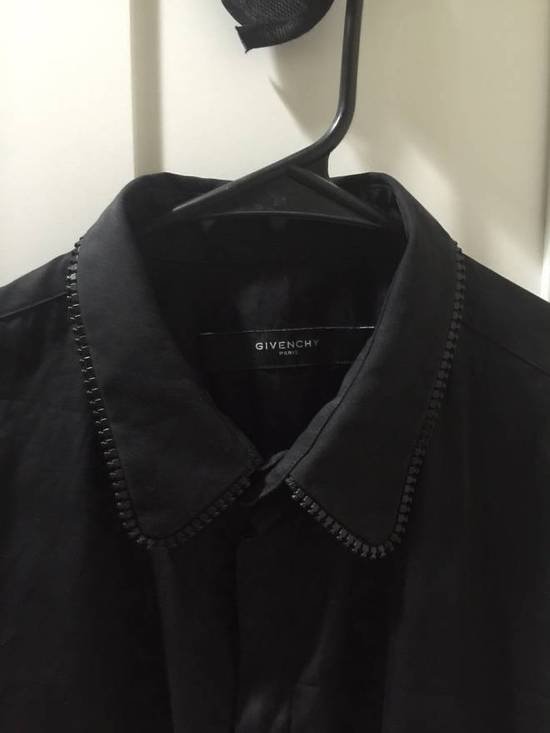 Givenchy Givenchy Zipper Collar Shirt Size US L / EU 52-54 / 3 - 1