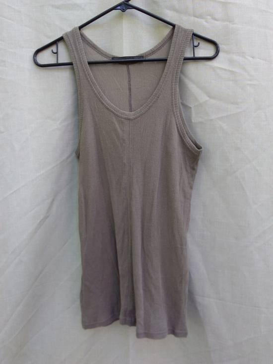 Julius Beige Ribbed Tank Top ss09 Size US S / EU 44-46 / 1