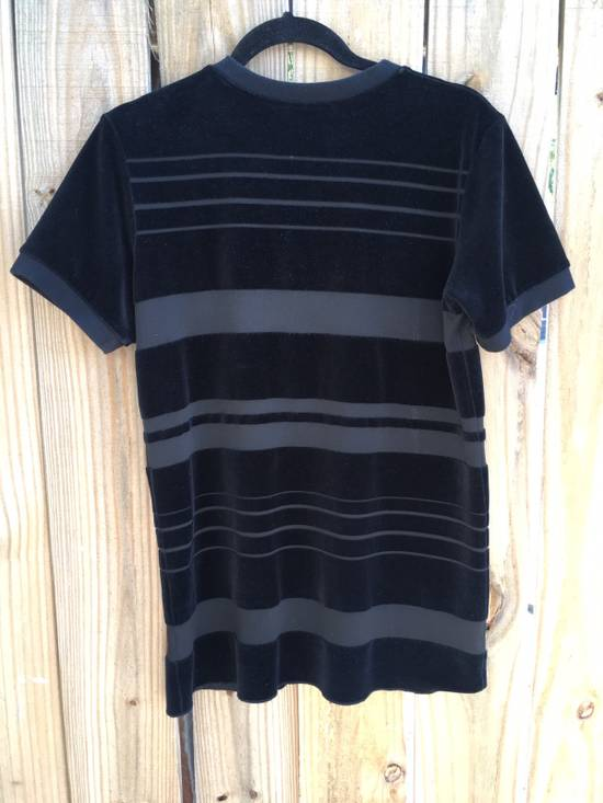 Balmain Balmain Striped Velvet Jersey Top Size US S / EU 44-46 / 1 - 4