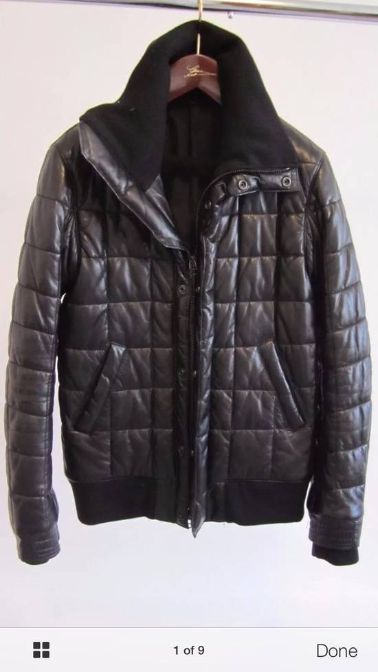 Balmain Balmain Homme Rare Leather Puffer List $6590 Size US S / EU 44-46 / 1