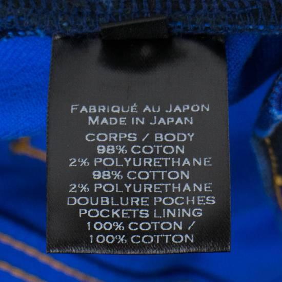 Balmain Blue Camouflage Denim Distressed Jeans Pants Size US 30 / EU 46 - 6