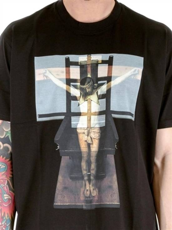 Givenchy Jesus Cross Print T-shirt Size US M / EU 48-50 / 2 - 2