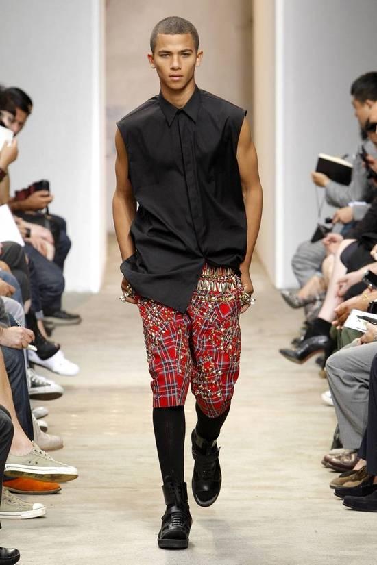 Givenchy SS13 BLACK COLLAR DETAILED SHIRT Size US XS / EU 42 / 0 - 1