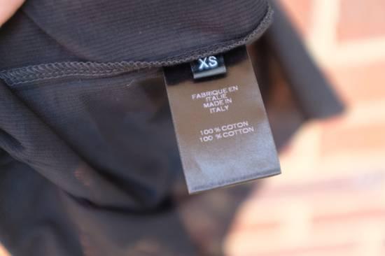 Balmain Black Ribbed Knit T-shirt Size US XS / EU 42 / 0 - 7