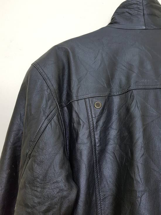 Balmain Authentic Pierre Balmain Riding Bomber Leather Jacket Size US L / EU 52-54 / 3 - 23