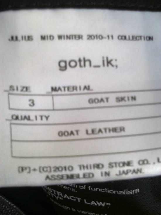 Julius Julius high collar Leather Jacket Size US L / EU 52-54 / 3 - 5