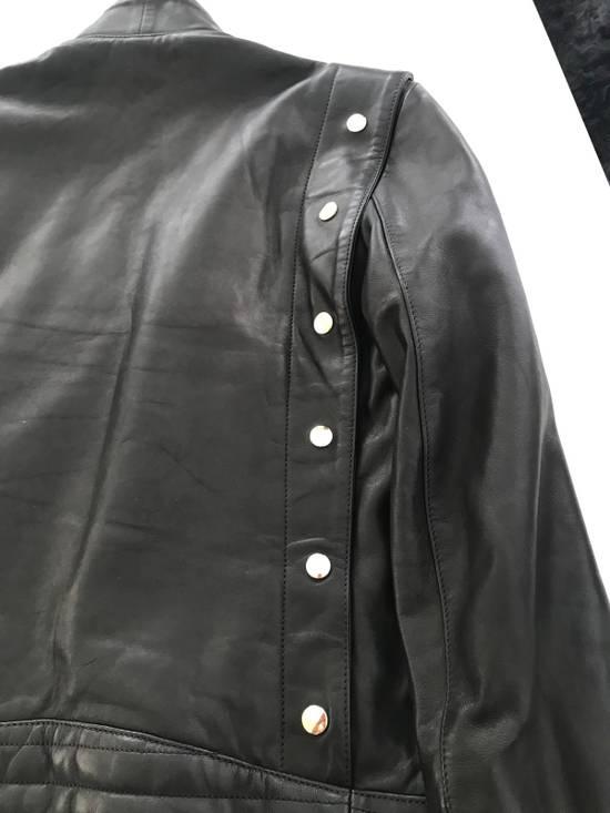 Balmain Balmain Black Leather Jacket Size US M / EU 48-50 / 2 - 3