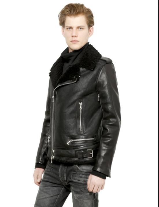 Balmain shearling leather biker jacket Size US M / EU 48-50 / 2