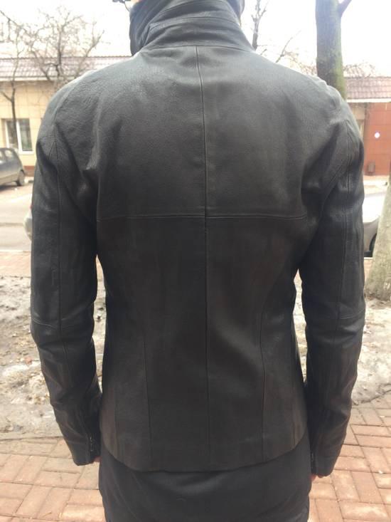 Julius Julius high collar Leather Jacket Size US L / EU 52-54 / 3 - 7