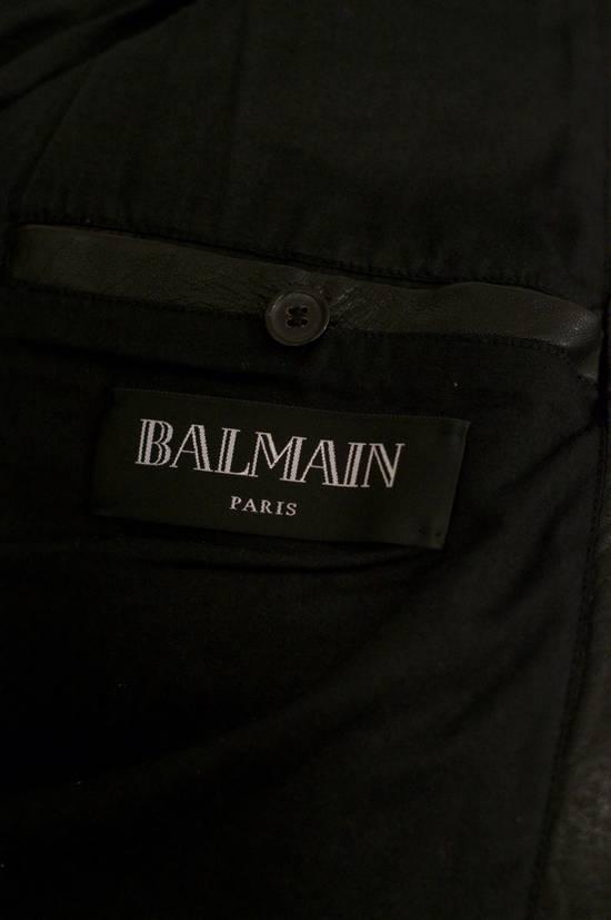 Balmain RARE! Lambskin Leather Biker Jacket Size US L / EU 52-54 / 3 - 6
