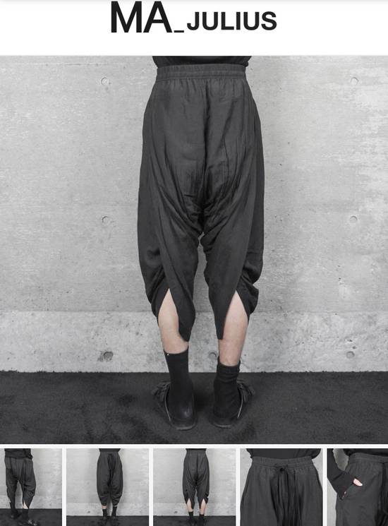 Julius Ma_julius SS14 Back Shirring Pants Size US 26 / EU 42 - 8